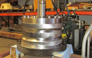 Rebuilt 80 ton cylinder