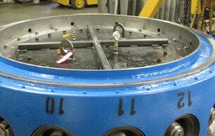 B-hub pressure test